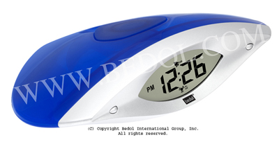 The Bedol Water Clock Wink Alarm Blue